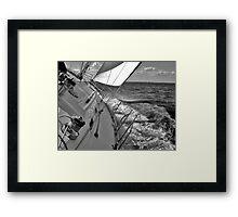 Forward Motion Framed Print
