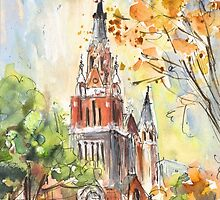 A Church In Our Street In Budapest by Goodaboom