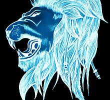 Luminous Lion Of Freedom! by Teleri Rees