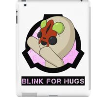 SCP-173 Blink For Hugs iPad Case/Skin