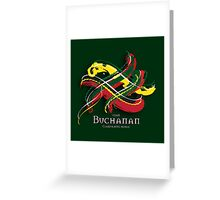 Buchanan Tartan Twist Greeting Card