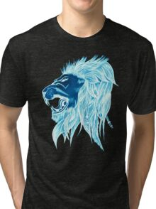 Luminous Lion Of Freedom! Tri-blend T-Shirt