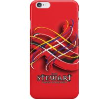 Stewart Tartan Twist iPhone Case/Skin
