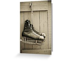 skates Greeting Card