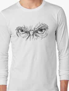 Doctor Who - Peter Capaldi Eyes - No Sir, All 13 Long Sleeve T-Shirt