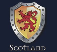 Scotland Lion Rampant Shield T-Shirt
