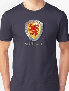 Scotland Lion Rampant Shield Unisex T-Shirt