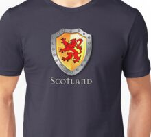 Scotland Lion Rampant Shield Unisex T-Shirt