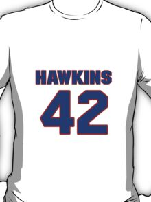 Basketball player Connie Hawkins jersey 42 T-Shirt