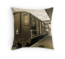 Old Wagon (sepia toned) Throw Pillow