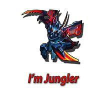Kha' zix - I'm Jungler Photographic Print