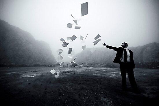 Paper Cut by Bogac Erguvenc
