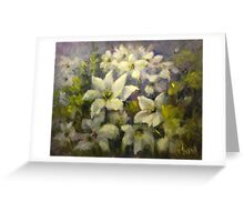 Floral tapestry Greeting Card