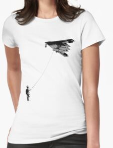 Stealth (There is a difference between childs play and playing childishly) Womens Fitted T-Shirt