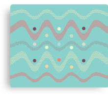 Pattern XVI (different color) Canvas Print