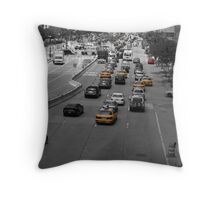 NYC Traffic Throw Pillow