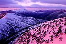 Mount Hotham sunset by Ern Mainka