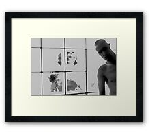 We Are Glass Framed Print