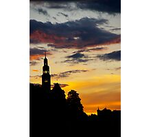 salzburg sunset Photographic Print