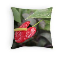 A Flowering Beauty Throw Pillow