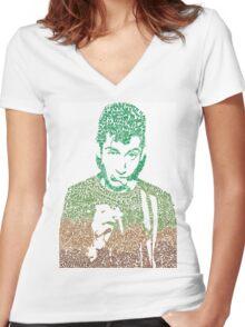 Alex Turner (GREENS) Women's Fitted V-Neck T-Shirt