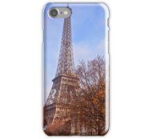 Tour Eiffel in Fall iPhone Case/Skin