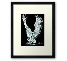 """I Am The Angel From Above"" Framed Print"