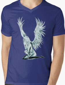 """I Am The Angel From Above"" Mens V-Neck T-Shirt"