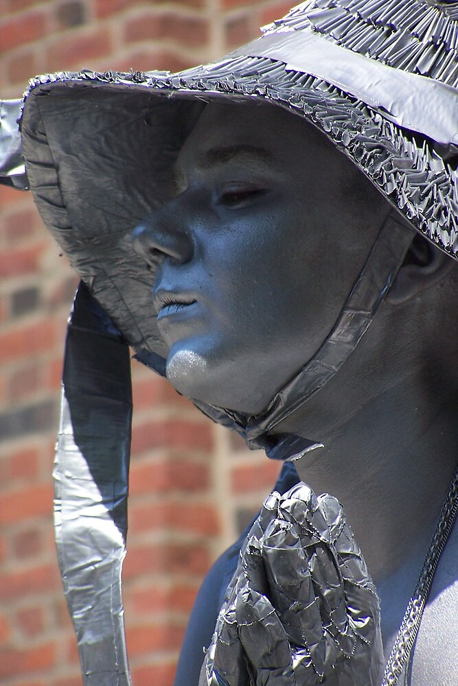 Boston's Living Statue by Stacey Milliken