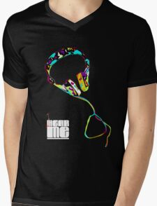 HEARME Empower Mens V-Neck T-Shirt