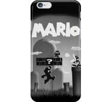 Mario in Limbo  iPhone Case/Skin