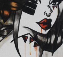 Love Feels Like War Sticker