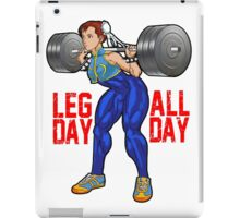Chun Li - Leg Day All Day iPad Case/Skin