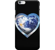 for the love of earth iPhone Case/Skin