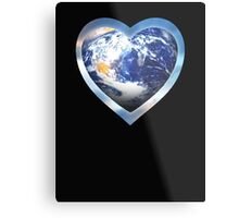 for the love of earth Metal Print