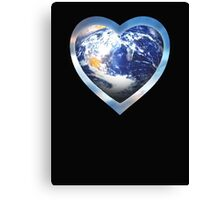 for the love of earth Canvas Print