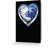 for the love of earth Greeting Card