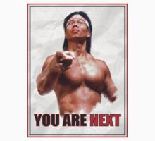 Chong Li - You are NEXT! by ronin47design