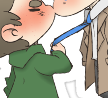 Destiel Kiss Sticker