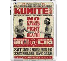 Kumite iPad Case/Skin