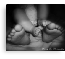 20 Tiny Toes Canvas Print