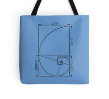 The Golden Spiral Tote Bag