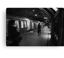 Baker Street Tube Station Canvas Print