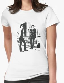 The Velvet Underground with gas Womens Fitted T-Shirt