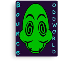 Oddworld: Bounce Canvas Print