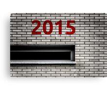 2015 brick work Canvas Print