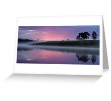 Morning on the Macleay  Greeting Card