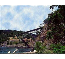 Deception Pass Bridge Photographic Print