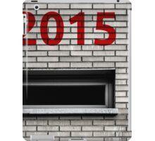 2015 brick work iPad Case/Skin