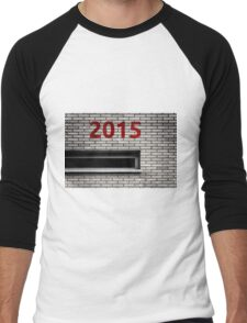2015 brick work Men's Baseball ¾ T-Shirt